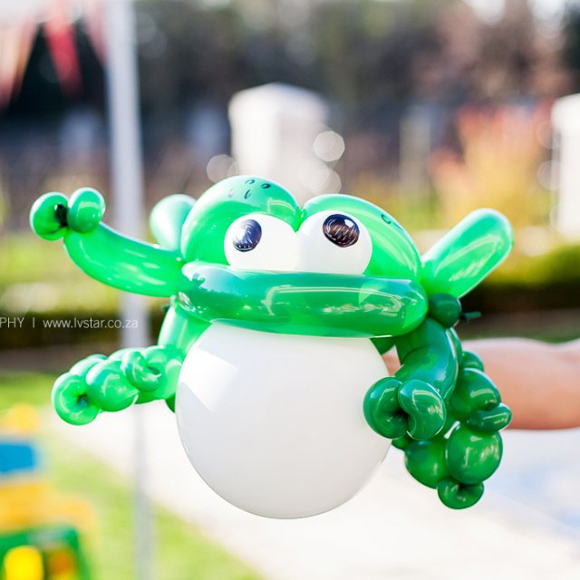 Balloon Artist Brooklyn Frog Bazinga Parties