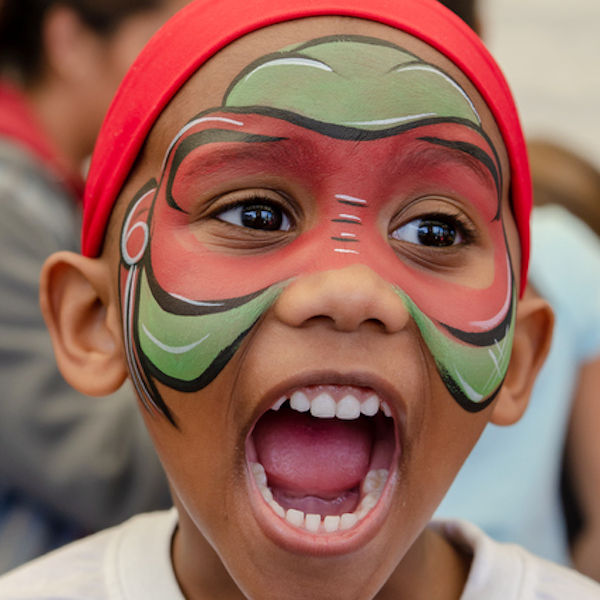 Kids Face-painting in Queens by Bazinga Parties
