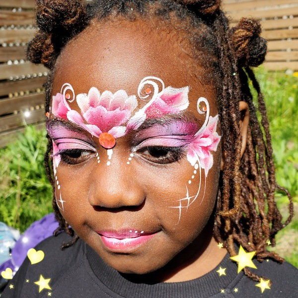 Kids Face Painting in Queens by Bazinga Parties