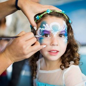 Face Painting New York City by Bazinga Parties