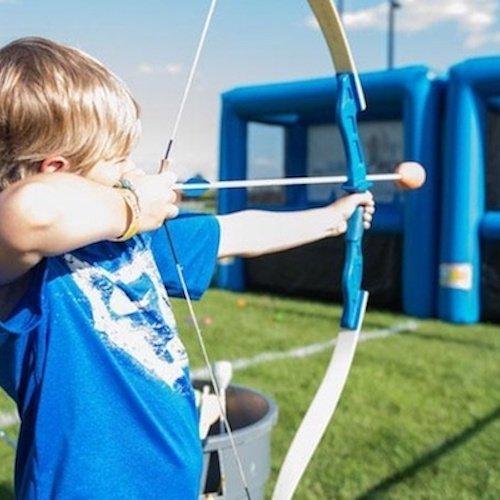 Inflatable Archery Event Entertainment New York City Bazinga