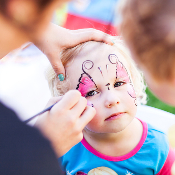 Kids Face-painting Party Entertainment in NYC