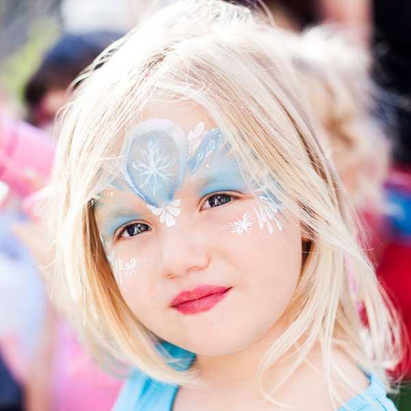Face-painting Kids Party Entertainment Manhattan Bazinga